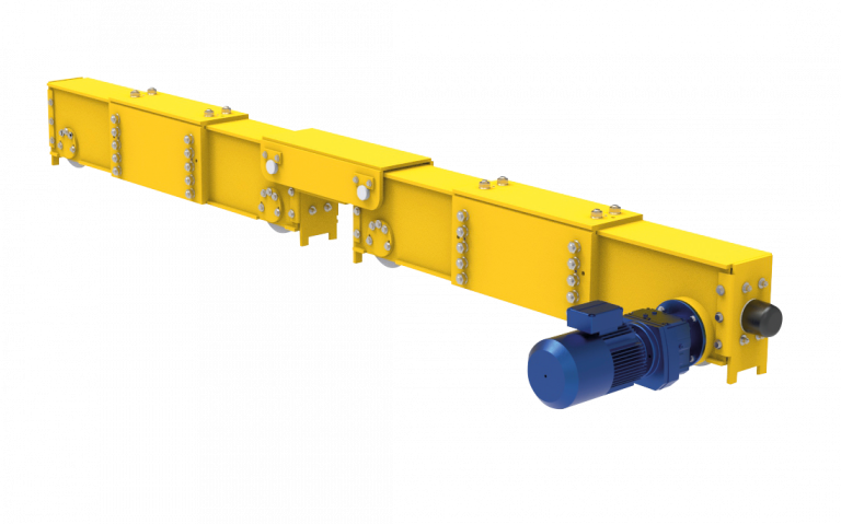 Gloning Crane Components - Modell GBE Kopfträger für Zweiträgerlaufkrane